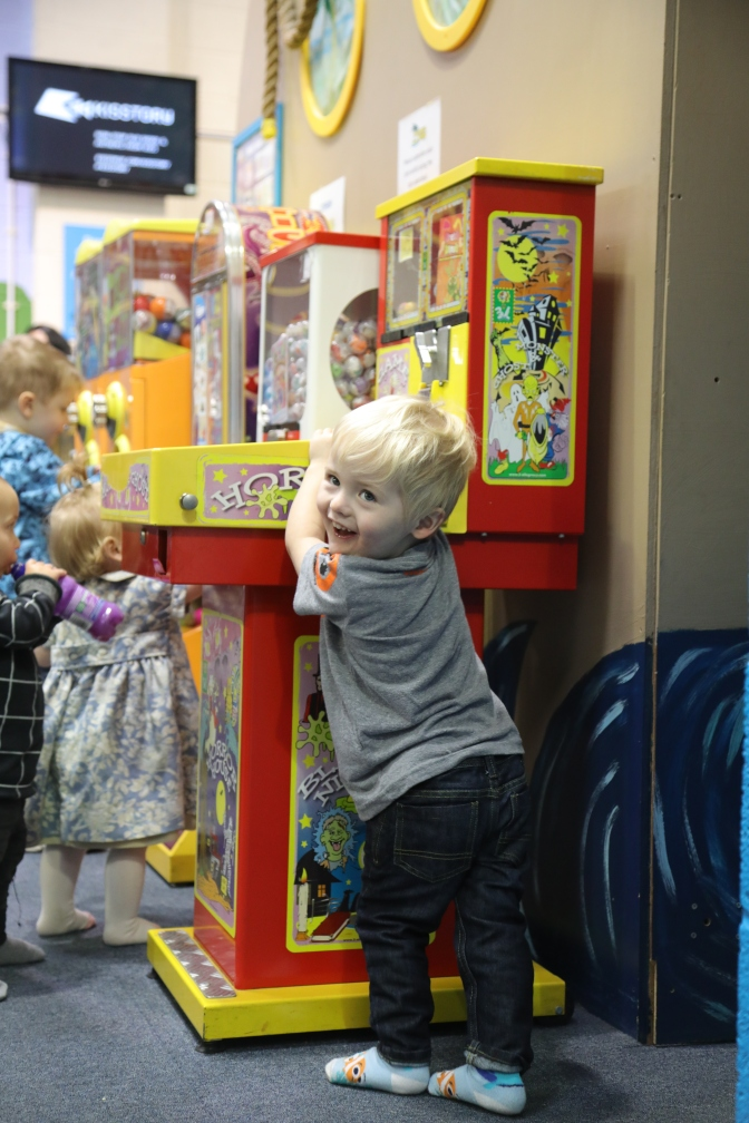 The (tongue in cheek) grandparent's guide to indoor play areas